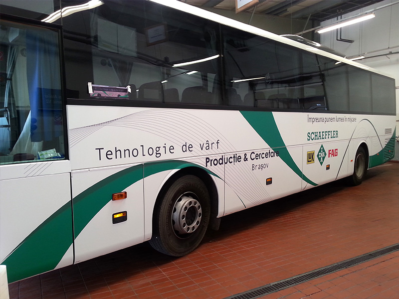 Sticker Decorare Autobuz Schaeffler