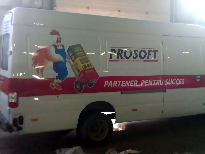 Sticker Decorare Mașină Prosoft