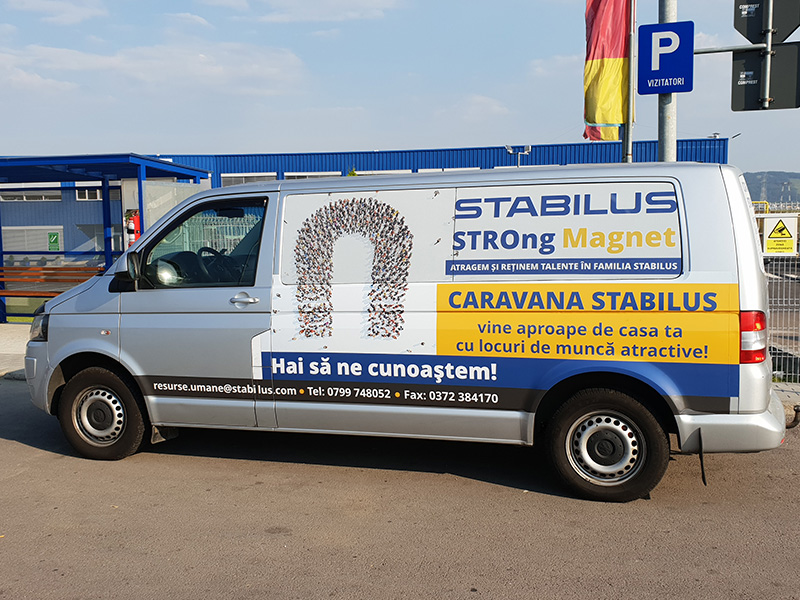 Sticker Decorare Mașină Stabilus