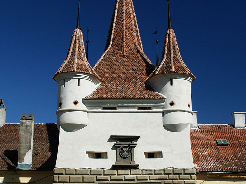 Outdoor photo Brasov City Catherine's Gate